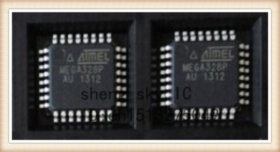 FREE SHIPPING 2PCS ATMEGA328P ATMEGA328P-AU ATMEGA328 TQFP32 8-bit Micro controller with 32K Bytes In-System Programmable Flash(China (Mainland))