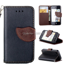 Suitable for iphone4/4s Mobile phone holster Case,4s Case,Simple fashion wallet mobile phone holster Cases