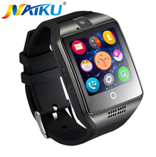 Buy Free New Q18 Passometer Smart watch Touch Screen camera TF card Bluetooth smartwatch Android IOS Phone T30 for $15.84 in AliExpress store