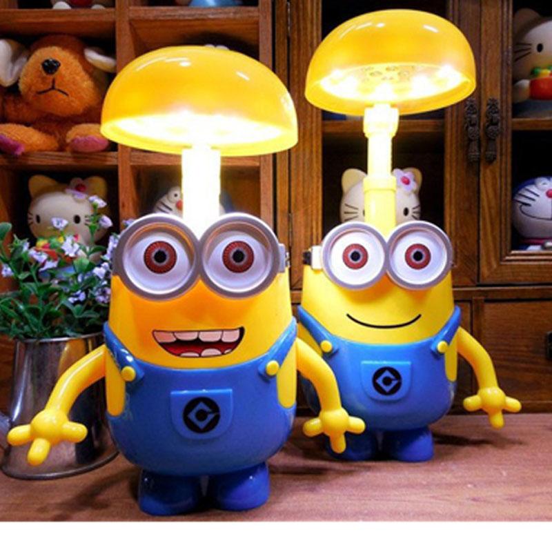 Гаджет  Minions Charging Lamp Learning Lamp Minions Led Night Light Use As Money Box Minions Piggy Bank For Children Gifts None Свет и освещение