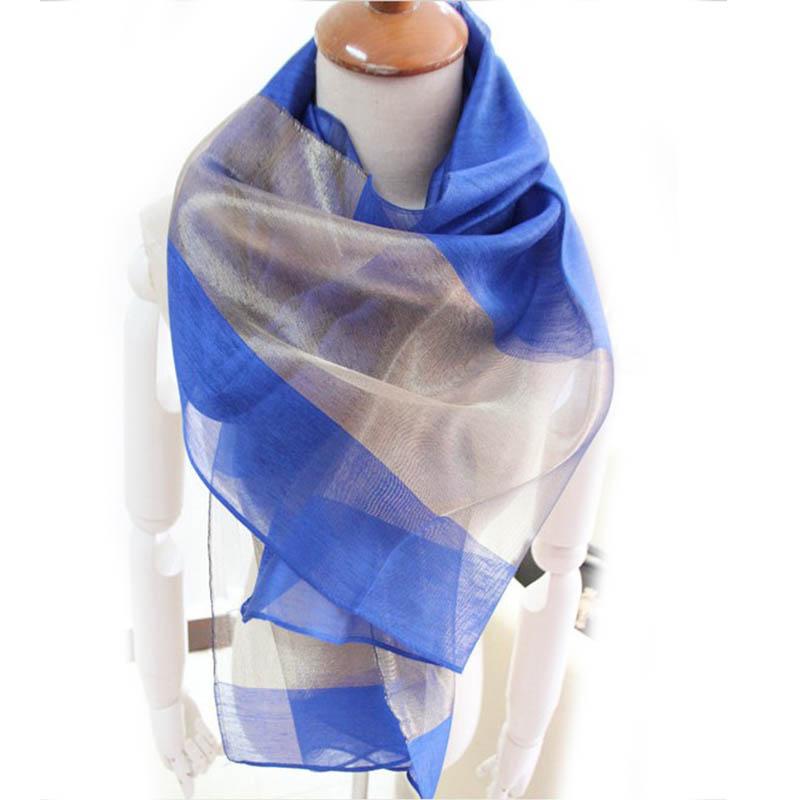 2016 New Women Silk Cotton Scarf Summer Spring Black Rose Blue Stitching Gold Silk Scarves Soft Long Shawl Head Wrap Scarf(China (Mainland))