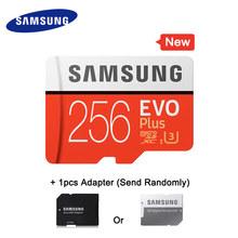 Cartão De Memória SAMSUNG Micro SD 256 gb gb gb 64 32 16 gb 128 gb SDHC SDXC Classe EVO + classe 10 C10 UHS-I Cartões TF Trans Flash Microsd Novo(China)