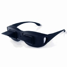 Amazing Lazy Creative Periscope Horizontal Reading Glasses On Bed Lie Down TV Sit View Bed Prism Spectacles The Lazy Glasses(China (Mainland))