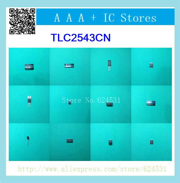 Здесь можно купить  [New Genuine]  TLC2543CN  10pcs  Электронные компоненты и материалы