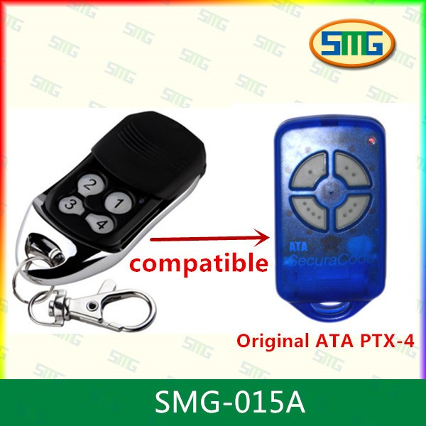 factory whole sales ATA compatible remote ,rolling code 433.92mhz ,100% compatible PXT-4(China (Mainland))