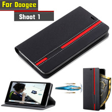 Buy Doogee Shoot 1 Case Flip Luxury Fashion PU Leather Back Fundas Coque Cover Case Doogee Shoot 1 Phone Stand for $4.44 in AliExpress store