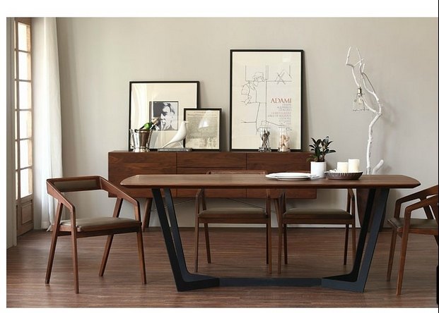 Table name picture more detailed picture about nordic ikea solid wood dining table desk