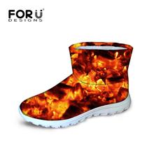 Nuevo 2015 Original caliente botas de nieve de felpa tobillo invierno cómodo dama diseño de la llama ocasional Australia zapatos planos(China (Mainland))