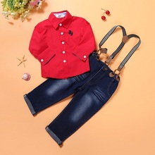JT-133 Retail 2015 new arrive factory outlet baby boys clothing set children clothing set fashion kids costumes free shipping(China (Mainland))