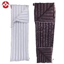 Aegismax outdoor camping sleeping bag envelope goose down 40 Degree ultralight adult single sleeping bags travel down blanket