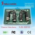 Tool-less (Snap on Style)Baluns/ video balun/passive video balun 1CH Passive utp video balun for CCTV