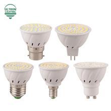 Buy E27 E14 MR16 GU10 B22 Lampada LED Bulb 110V 220V Bombillas LED Lamp Spotlight 48 60 80 LED 2835 SMD Lighting for $1.15 in AliExpress store