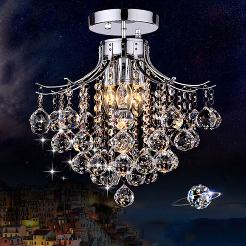 Crystal Chandelier Price: Best Price Crystal Chandelier With 3 Lights Mini Style