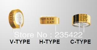 C-5.5v 1f super capacitor farad capacitor variety of foot are original spot(China (Mainland))