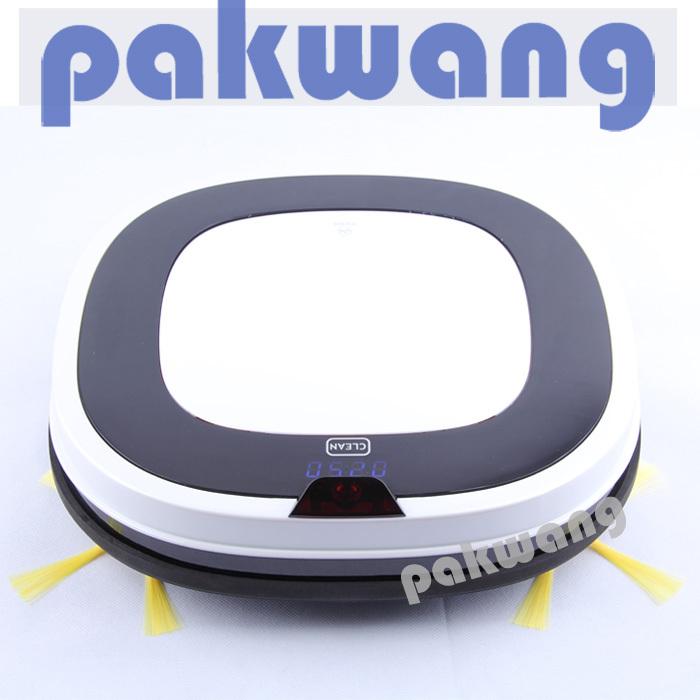 2016 Scheduled Robot Vacuum Cleaner,Intelligent Vacuum Cleaner with LED Screen,vacuum cleaner bag(China (Mainland))