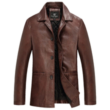 High Quality Thicker Winter Leather Jacket Men Mens Leather Jackets And Coats Veste Cuir Homme Chaqueta Cuero Hombre Deri Ceket(China (Mainland))