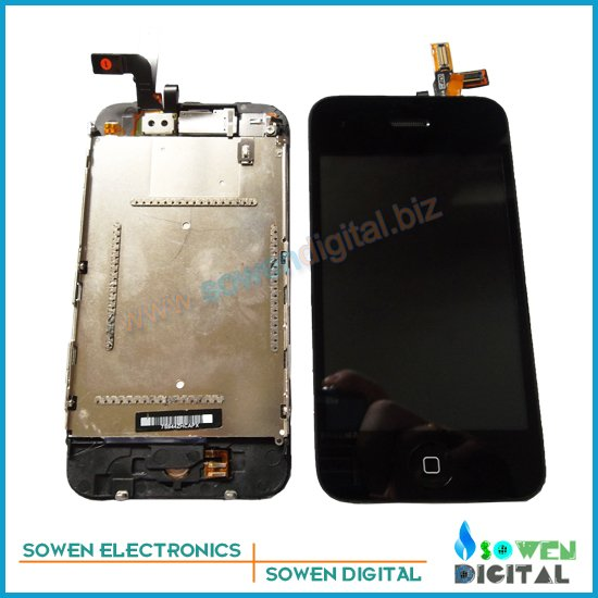 for iPhone 3Gs LCD display screen with touch screen digitizer assembly, 100% guarantee ,wholesales price(China (Mainland))