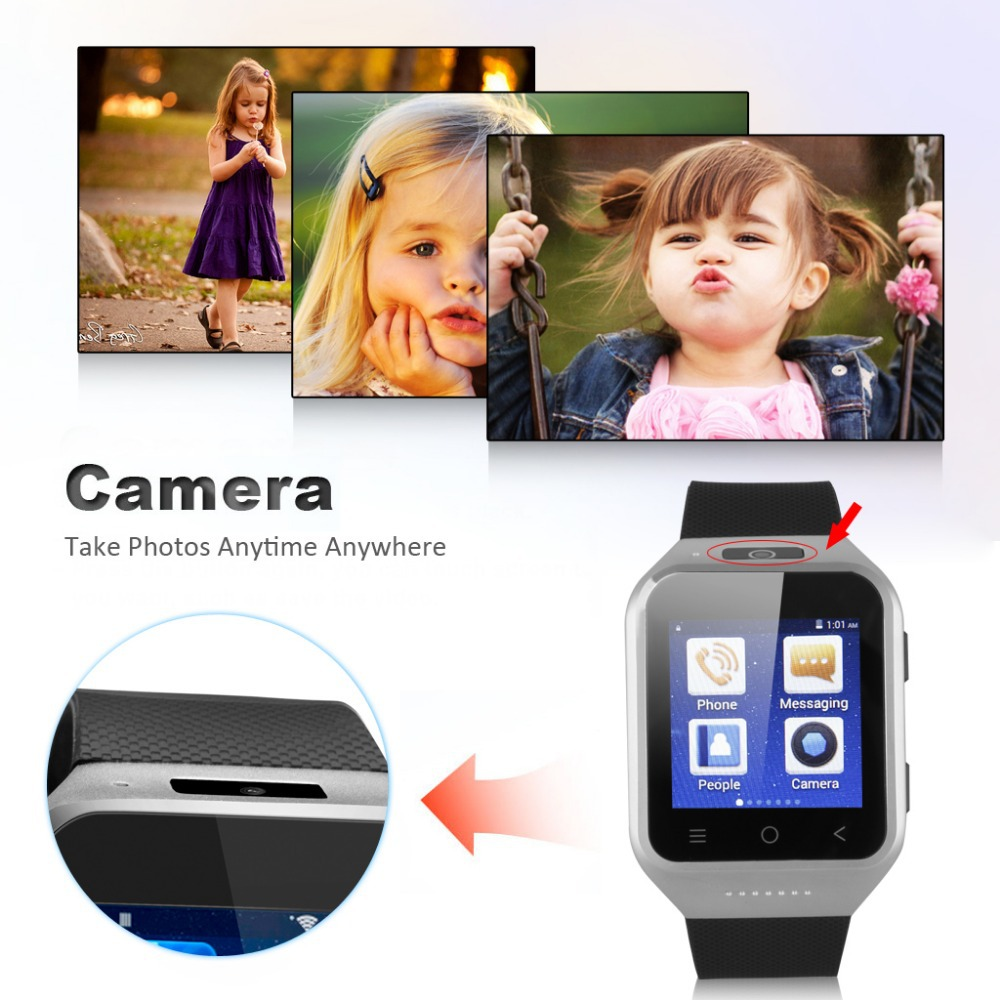 Brand New 3G Dual Core Phone Watch For Android 4.4 2.0MP ZGPAX 1.54 Inch Camera WCDMA GSM Email GPS WIFI Your Mini Cellphone!(China (Mainland))