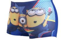 2016 Baby Boys Minions Swimwear Summer Kids Swimming Trunks Children Beach Bathing Swimsuit Character Swim Short