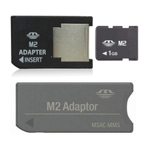 1GB Memory Stick Micro with 2 M2 adaptor Memory card M2 card(China (Mainland))