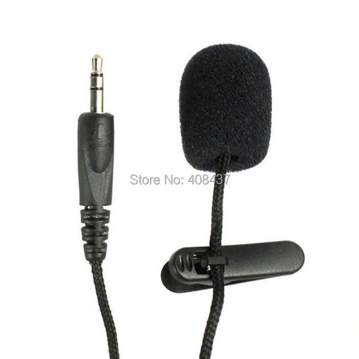 2PCS/LOT Mini Microphone With Clip Cable Microfone For Computer PC For Speaker Record Wired Micro Phone 3.5mm Recorder For GoPro(China (Mainland))