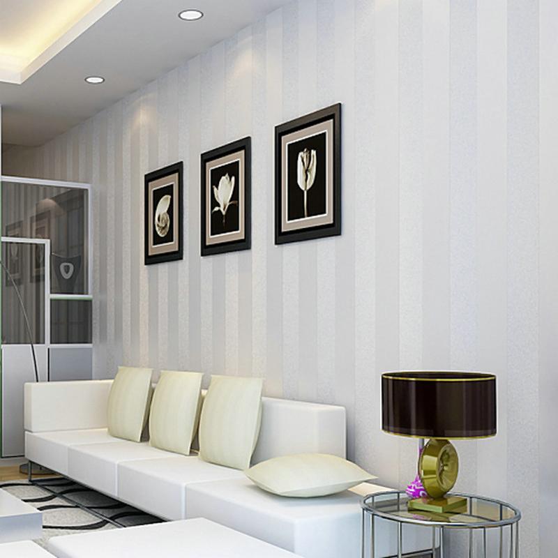 Salones modernos con papel pintado simple ideas - Salones decorados con papel ...