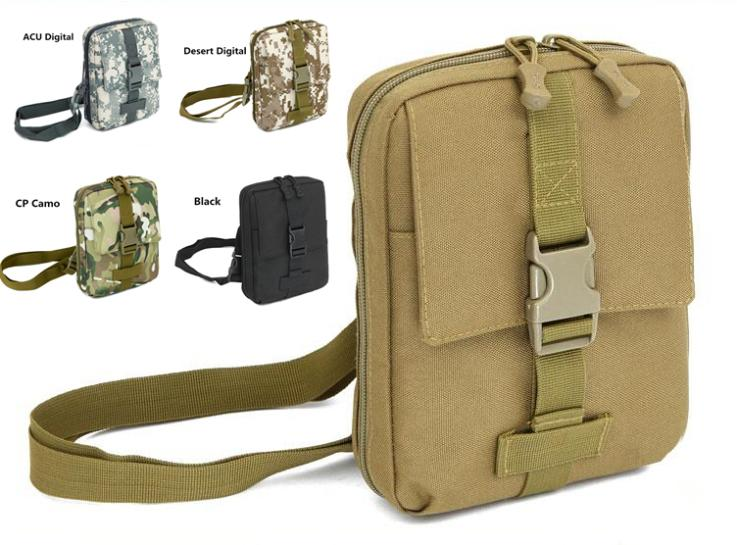 Molle Waterproof Satchel Camouflage Crossbody Messenger Shoulder Casual Bag Outdoor School Military Tactical Army Range Gear Men(China (Mainland))