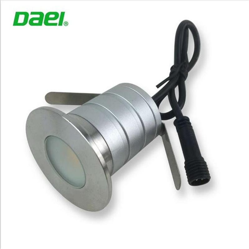 IP67 3W 12-24V LED Underground Light Outdoor Landscape Lighting Recessed 90 degree Spot Light LED Floor Deck Stair Lamp(China (Mainland))