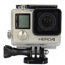 GoPro Accessories Waterproof Housing Case For Hero3 Hero3 Plus Hero4 Standard Underwater Waterproof Housing Protective Case(China (Mainland))