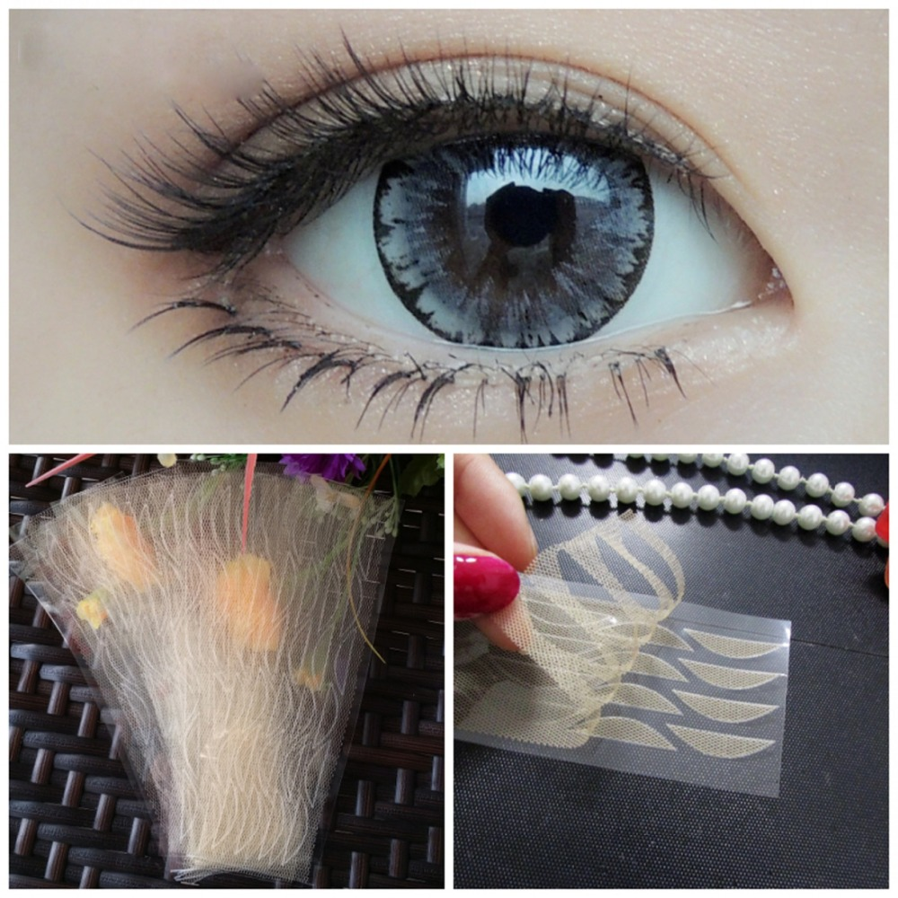 120Pcs Lace Stealth Double Eyelid Tape Stickers without Glue Women Lady Invisible Double Eyelid Stickers