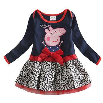 Кружева пачка с бантом девочка платья с длинным рукавом летние детей платья для девочек одежды девушки ну вечеринку платье принцессы детская одежда