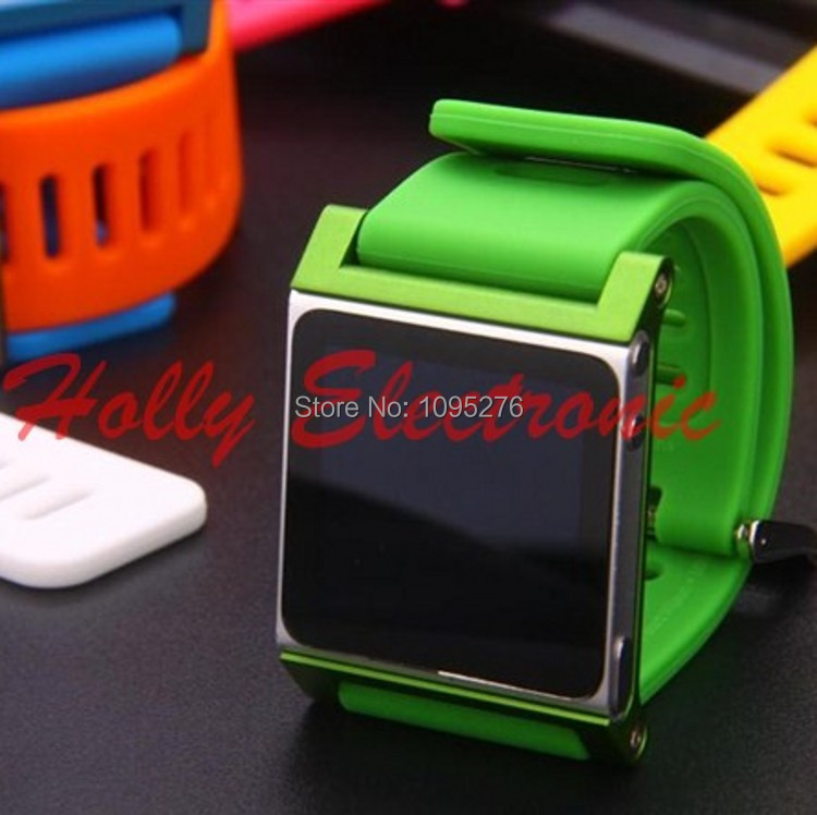 2014 new Colorful fashion Luna -T Watch Band Aluminum Case iPod Nano 6 nano6 Retail Package - YZC Electronic Speciality Store store