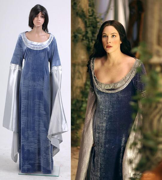 Arwen Dress Costume Dress Costume Custom Made