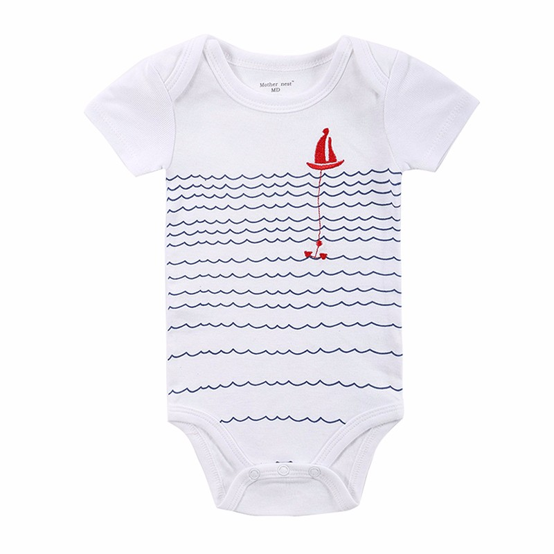 20 STYLES Baby Bodysuits Boys Girls Baby Clothing Cartoon Printed Infant Jumpsuits Summer Overalls Cotton Coveralls Fashion Wear (1)