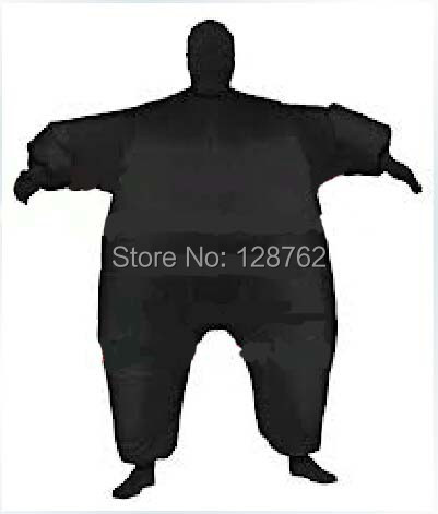 Black inflatable suit Halloween carnival costumes Full Body Costume Jumpsuit - ShangHai According SAN Trading Co., Ltd store