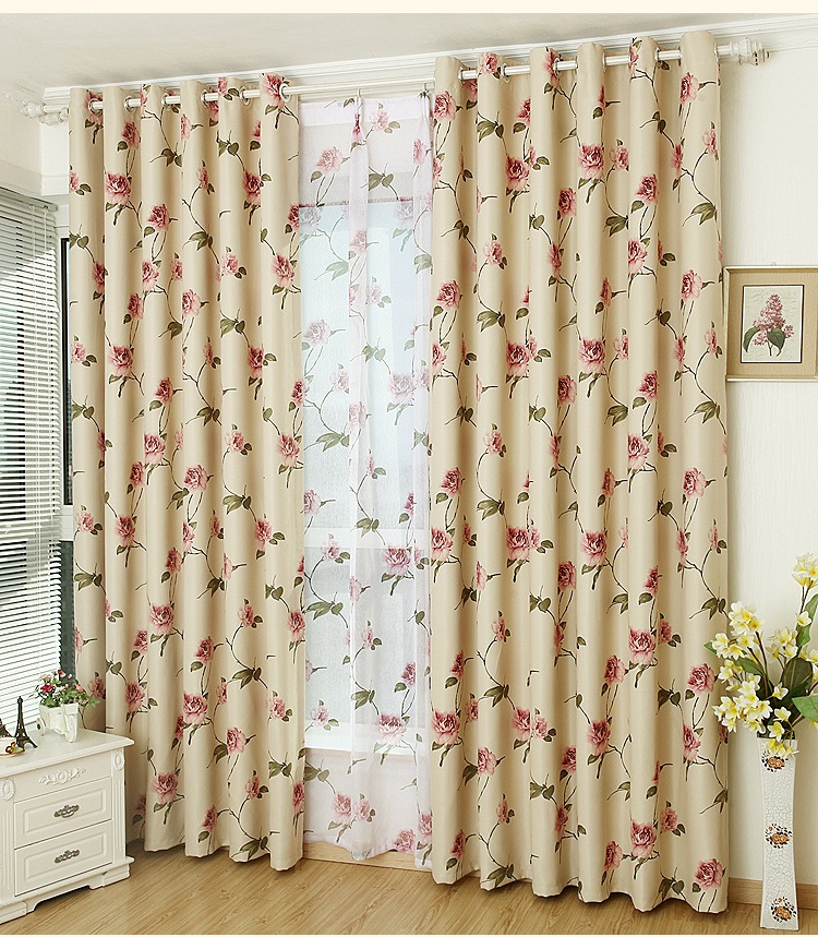 Cheap floral curtains