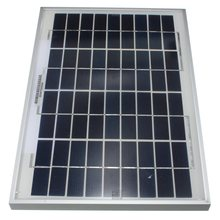 Hot Style universal 10W 12V PolyCrystalline Solar Panel Poly Module for RV Boat Cell Battery Power Charger Charging 345x230x18mm(China (Mainland))