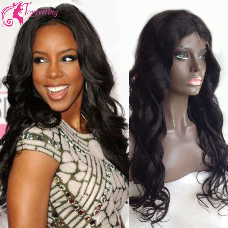 8A Bleached Knots Full Lace Front Wigs With Baby Hair Virgin Wet And Wavy Lace Front Wig&amp;Glueless U Part For Black/White Women<br><br>Aliexpress