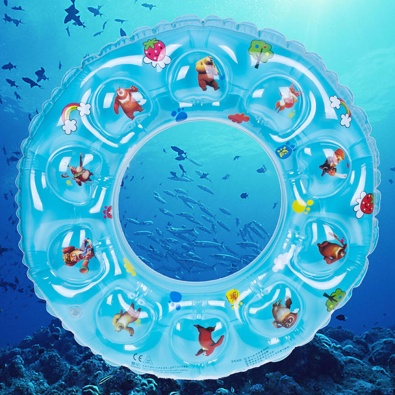 Thickened double children swim ring water supplies wholesale PVC inflatable bath(China (Mainland))