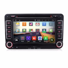 "Pumpkin Quad Core Android 4.4 2 Din Car DVD Player Radio 7"" Car Stereo GPS For VW Jetta Polo Golf 5 6 Seat Support 3G/Wifi DAB(China (Mainland))"