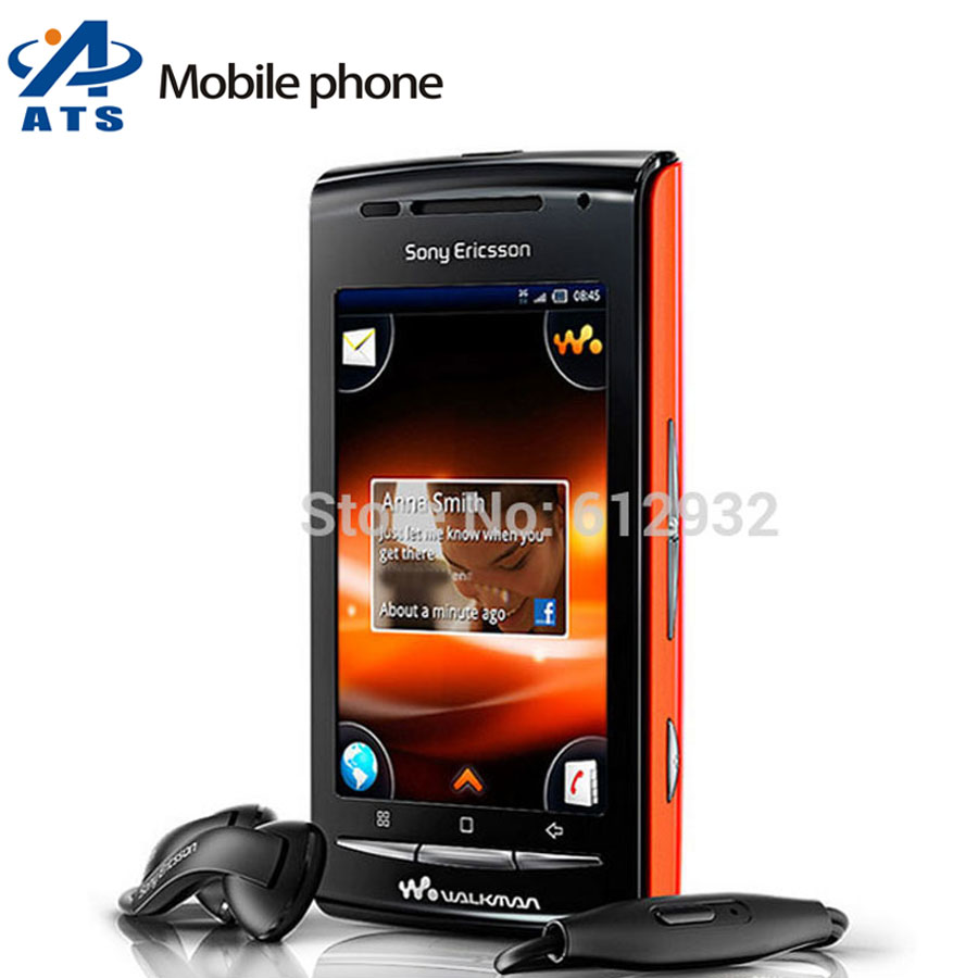 """E16i Original Sony Ericsson W8 Mobile Phone E16i cell phone 3.0""""Touch Screen Android 3G WIFI GPS 3.2MP Free Shipping(China (Mainland))"""