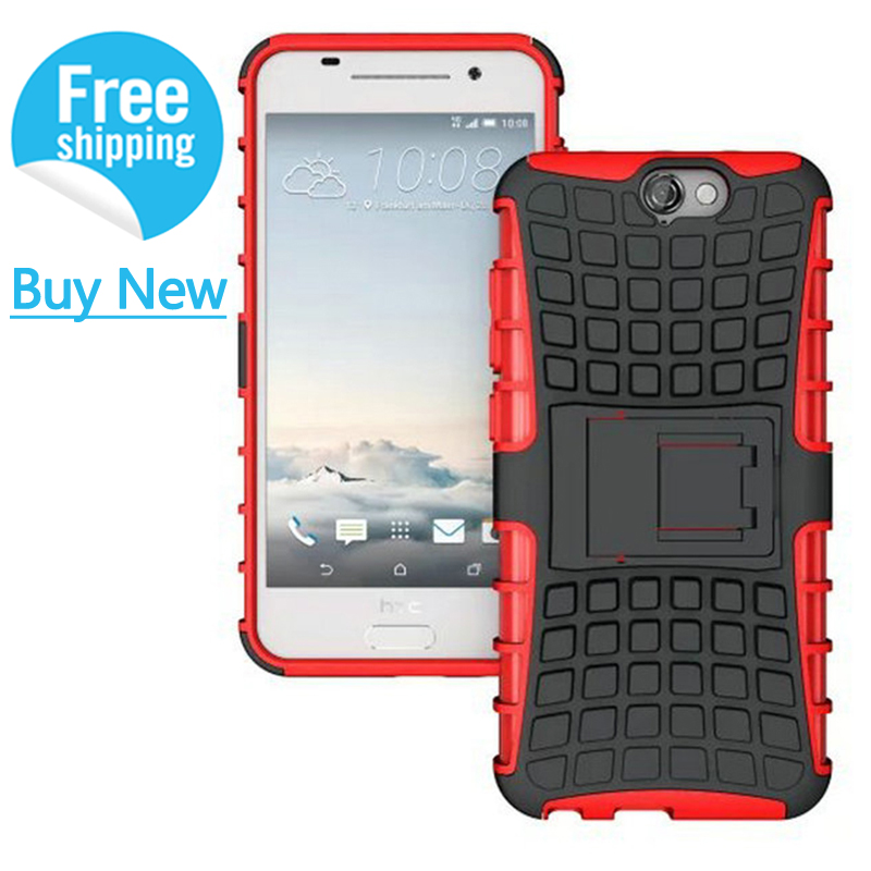 For HTC One A9 Case Hybrid Dual Heavy Duty shockproof Armor Phone Cases For HTC One A9 Cover Protective 2016 Stand Coque IDOOLS(China (Mainland))
