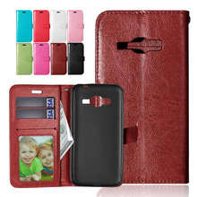 Buy Wallet Style PU Leather Flip Stand Photo Frame Case Cover For Samsung Galaxy J1 2016 J120 J120F J1, 6 SM-J120F / DS 4.5 inch for $3.79 in AliExpress store