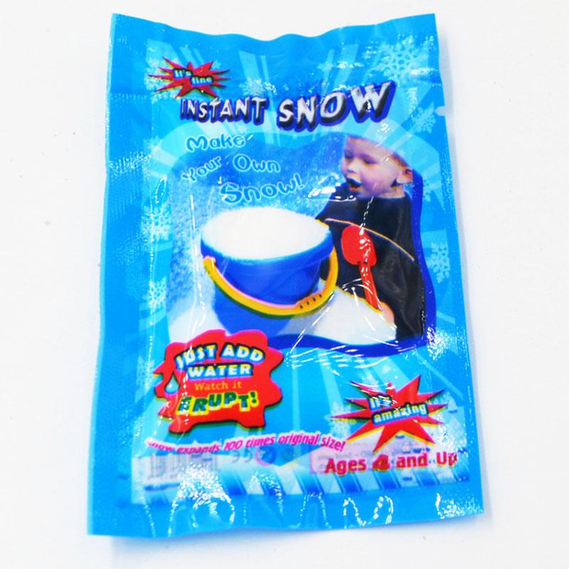 Neige artificielle Poudre Magique Neige DIY Instantanée De Neige De Noël Pour Noël Décorations De Noël Décoration Parti Fournitu.