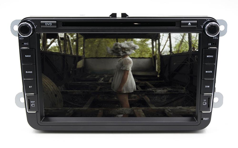 In dash 8 inch Vokswagen Navigation VW GPS Radio Car CD DVD For POLO JETTA TIGUAN TOURAN Bora EOS GOLF 5 6 7 4 mp3 radio Player()