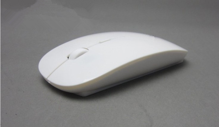 Printed Ultra-Thin 2.4GHz Wireless Mouse&Mice Optical Fashion Mouse Apple Laptop Desktop Computer - China Factory Store store