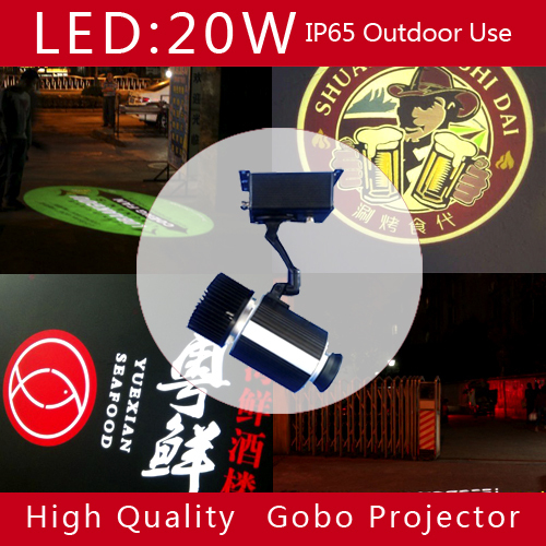 20W outdoor custom logo projector light,led ceiling spotlight,hotel advertising led spotlight,hot selling led lamp with logo(China (Mainland))