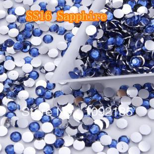 SS16 10000pcs/pack Flat back Acrylic Rhinestones Olivine Color Nail Art - Rhinestone houses store