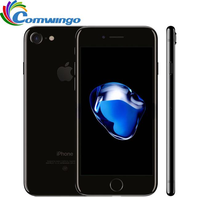 Оригинальный Разблокирована Apple iPhone 7 2 ГБ ОЗУ 32/128 ГБ/256 ГБ ROM IOS 10 Quad-Core 4 Г LTE 12.0MP iphone7 Apple Отпечатков Пальцев touch ID