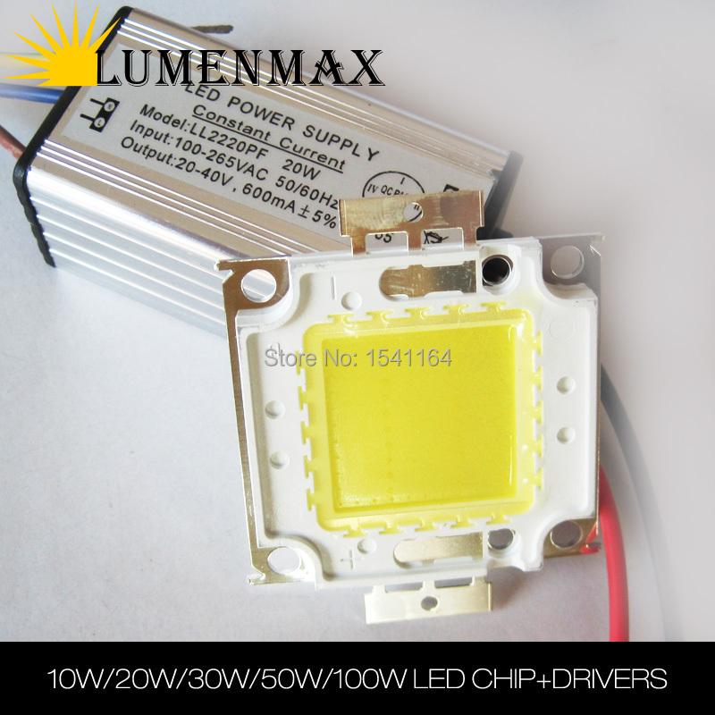 Прожектор Kingsun 10W 20W 30W 50W 100W IC SMD + LED SC-COB10W-01 2pcs led lamp chip cob 100w 50w 30w 20w 15w 10w 220v 240v led cob chip cold warm white smart ic for diy led spotlight floodlight
